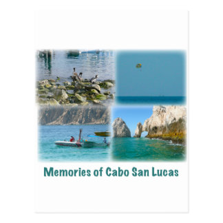 Memories of Cabo San Lucas Postcard