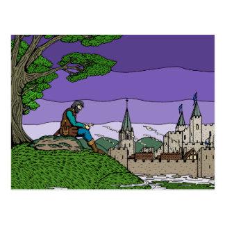 Memories of Camelot Postcard