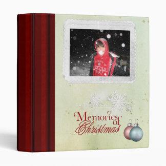 memories of christmas photo album or scrapbook binders