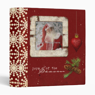 memories of christmas photo album vinyl binders