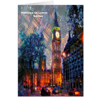 Memories of London Greeting Card