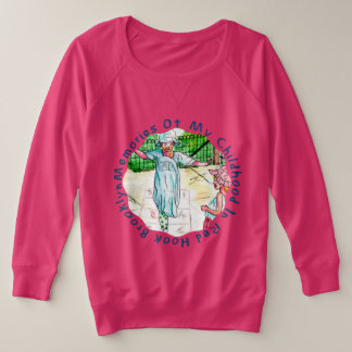 Memories Of My Childhood Plus Size Sweatshirt
