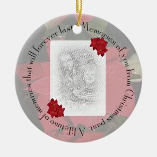 Memories of You, Personalize Ceramic Ornament