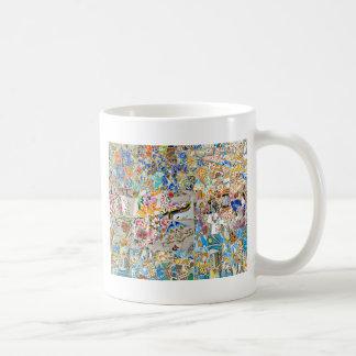 Memories. Park Güell. Great Mosaic. Part 1. Coffee Mug