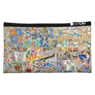Memories. Park Güell. Great Mosaic. Part 1. Makeup Bag