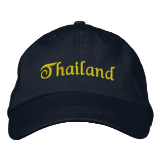 Memory about vacations in Thailand Embroidered Hat