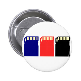 Memory Cards - SD memory card 2 Inch Round Button