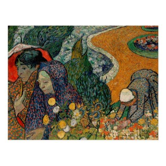 Memory of Garden at Etten, Van Gogh Fine Art Postcard