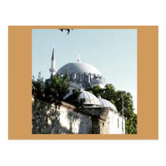 Memory of Istanbul, Soleymaniye Mosque 2 Postcard