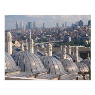 Memory of Istanbul, Soleymaniye Mosque Postcard