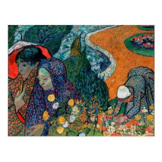 Memory of the Garden at Etten by Vincent van Gogh Postcard