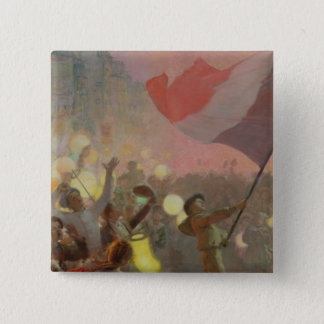 Memory of the National Festival, 1895 2 Inch Square Button