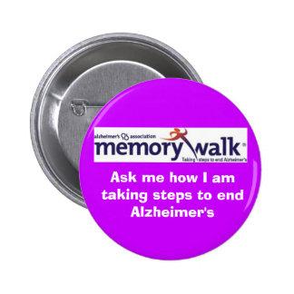Memory Walk pin
