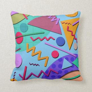 Memphis #10 throw pillow