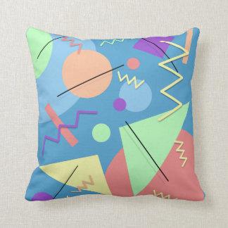Memphis #4 throw pillow