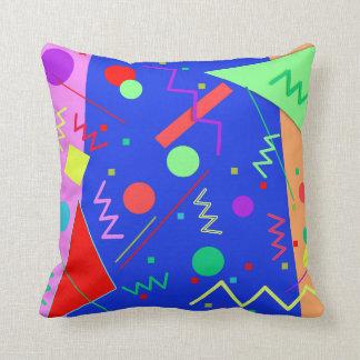 Memphis #53 throw pillow