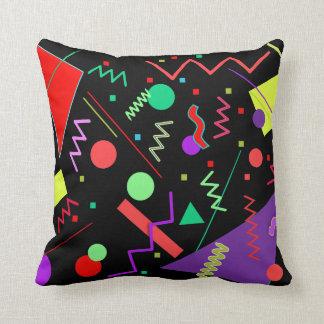 Memphis #58 throw pillow