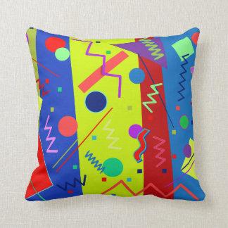 Memphis #63 throw pillow