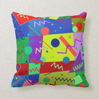 Memphis #64 throw pillow