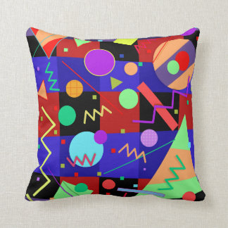 Memphis #67 throw pillow
