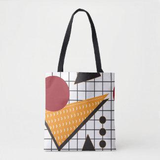 Memphis Abstract Tote Bag