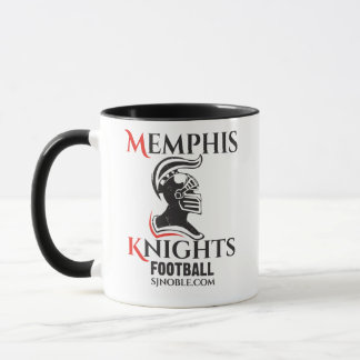 Memphis Knights Logo Black Two-toned Mug