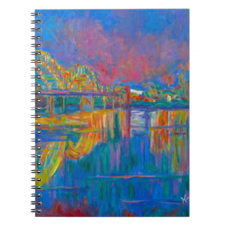 Memphis Lights Notebook