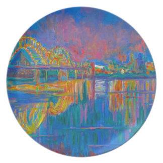 Memphis Lights Plate