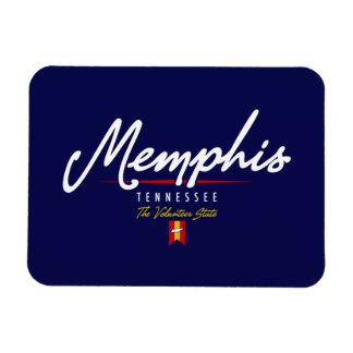Memphis Script Magnet