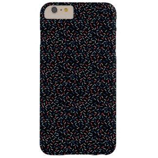 Memphis Style Dark Confetti Barely There iPhone 6 Plus Case