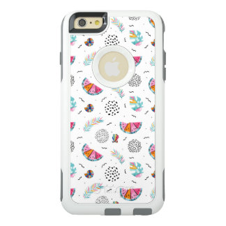 Memphis Style Tropical Summer Pattern OtterBox iPhone 6/6s Plus Case