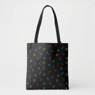 Memphis Styled Tote Bag