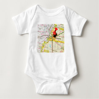 Memphis, Tennessee Baby Bodysuit