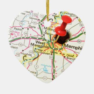 Memphis, Tennessee Ceramic Ornament