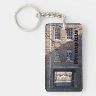 Memphis Tennessee Double-Sided Rectangular Acrylic Keychain