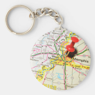 Memphis, Tennessee Keychain