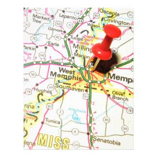 Memphis, Tennessee Letterhead