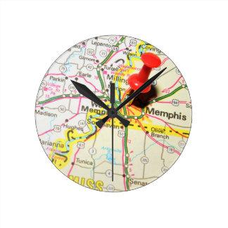 Memphis, Tennessee Round Clock