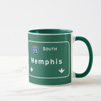 Memphis Tennessee tn Interstate Highway Freeway : Mug