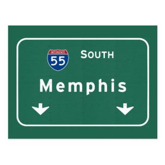 Memphis Tennessee tn Interstate Highway Freeway : Postcard