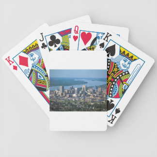 Memphis Tennsesse Skyline Bicycle Playing Cards