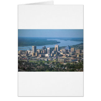 Memphis Tennsesse Skyline Card