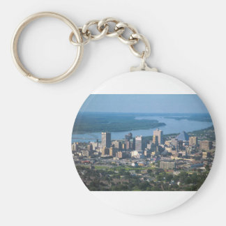 Memphis Tennsesse Skyline Keychain