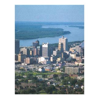 Memphis Tennsesse Skyline Letterhead