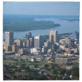 Memphis Tennsesse Skyline Napkin