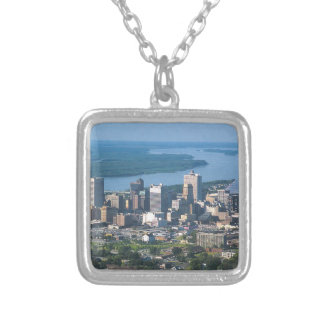 Memphis Tennsesse Skyline Silver Plated Necklace