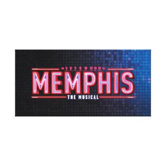 MEMPHIS - The Musical Logo Canvas Print