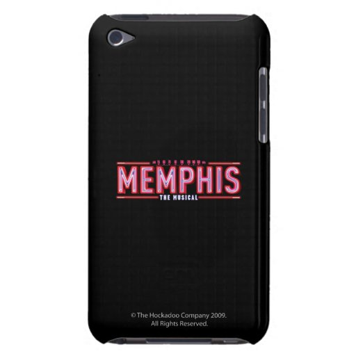 MEMPHIS - The Musical Logo Barely There iPod Cases