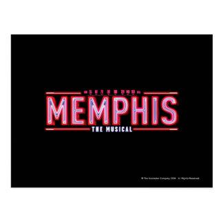 MEMPHIS - The Musical Logo Postcard
