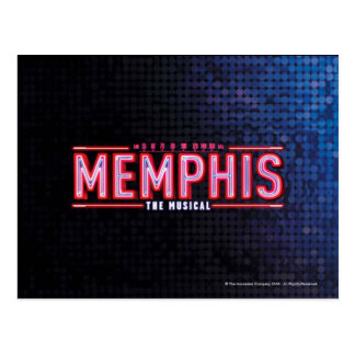 MEMPHIS - The Musical Logo Postcard